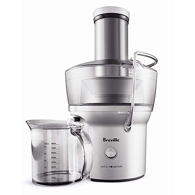 10. Breville BJE200XL 700-Watt Juice Extractor