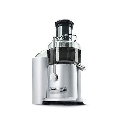 9. Breville JE98XL Juice Fountain Plus 850-Watt Juice Extractor