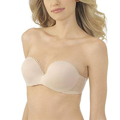 7. Lily of France Gel Touch Strapless Bra - 2111121