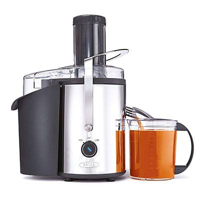 2. BELLA Stainless Steel Juice Extractor (13694)
