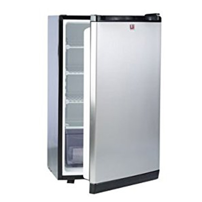 8. Urban Islands Stainless Steel Refrigerator