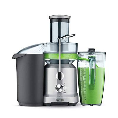 5. Breville The Juice Fountain Cold (BJE430SIL)