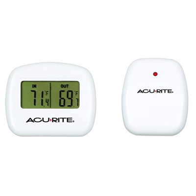 8. AcuRite 00782A2 Wireless Indoor/Outdoor Thermometer