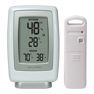 4. AcuRite 00611 Indoor outdoor Thermometer