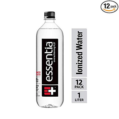 1. Essentia Water, Ionized Alkaline bottled Water