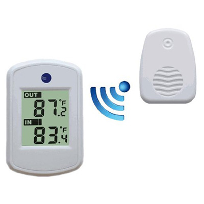 6. Ambient Weather WS-04-WHITE Wireless Thermometer