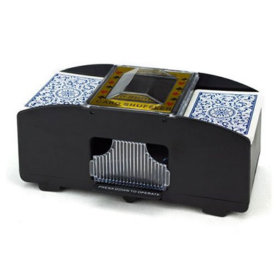 5.Brybelly Two Deck Automatic Card Shuffler
