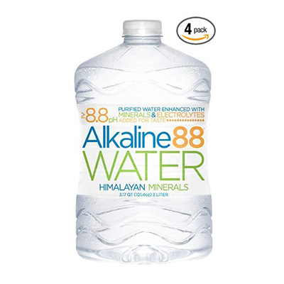 8. Alkaline 88 bottled Water