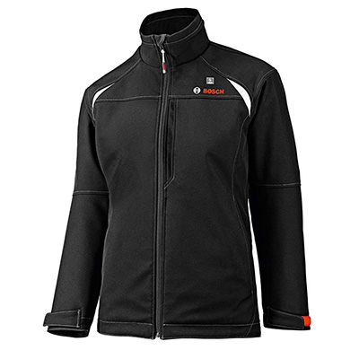 3. Bosch Women's Soft Shell Heated jacket