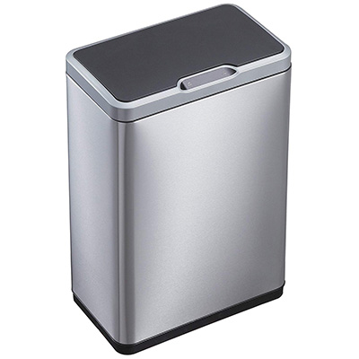 10.EKO 92785-1 Touchless Stainless Steel Trash Can