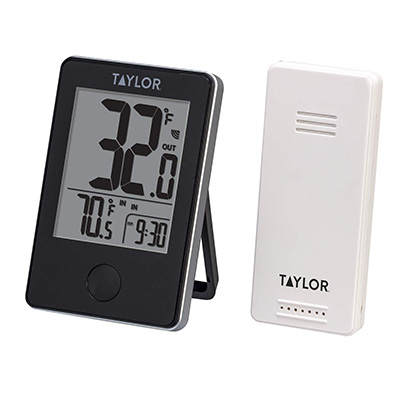 7. The Taylor Wireless Indoor and Outdoor Thermometer