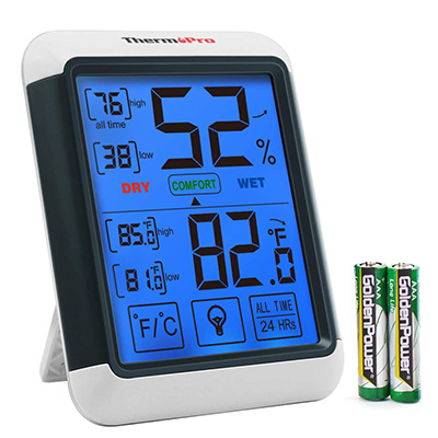3. ThermoPro TP55 Digital Hygrometer Indoor Thermometer