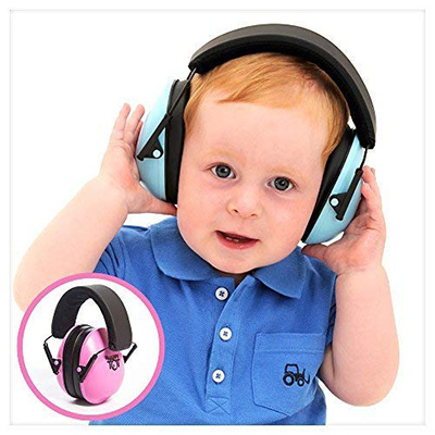 4. My Happy Tot Headphones, Fully adjustable Hearing Protection Headphones