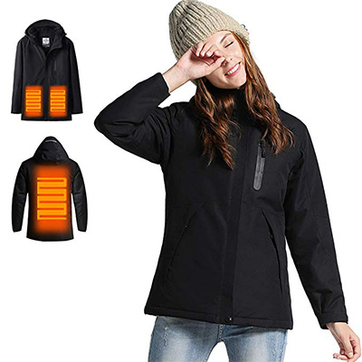 4. Venustas Women's Heated jacket