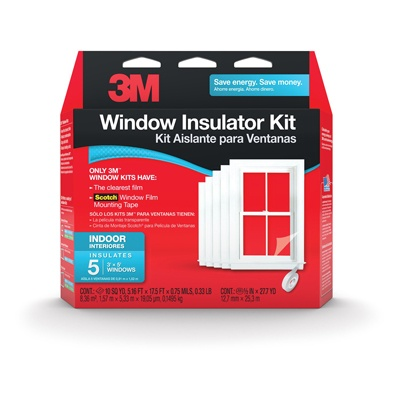 10. 3M Indoor Window Insulator Kit
