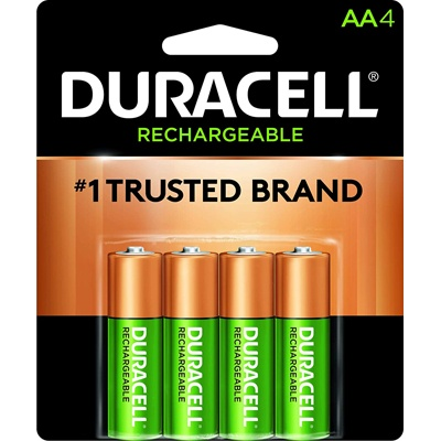 8. Duracell - Rechargeable AA Batteries