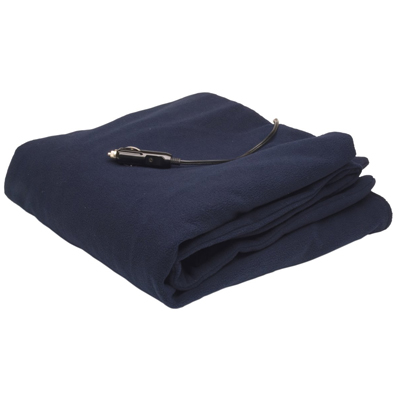 3. Roadpro 12-V Polar Fleeces Travel Blanket