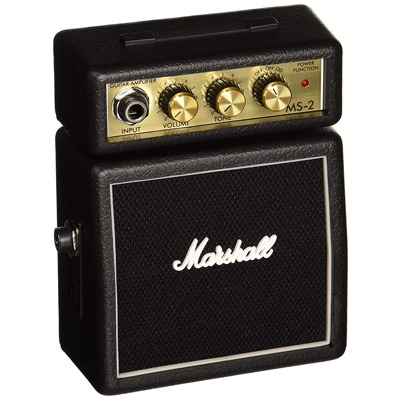 5. Marshall MS2 Battery-Powered Micro Guitar Amplifier