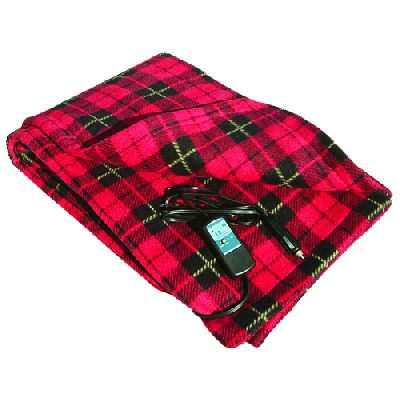 1. Car Cozy 2 - 12-V Heated Travel Blankets