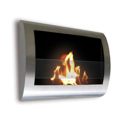 8. Anywhere Fireplace Stainless Steel Fireplace