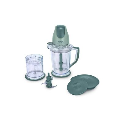2. Ninja 400-Watt Blender/Food Processor for Frozen Blending, Chopping and Food Prep with 48-Ounce Pitcher and 16-Ounce Chopper Bowl (QB900B), Silver