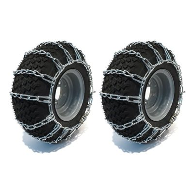 7. Tire Chains for 20 x 10.00 x 8 by Peerless