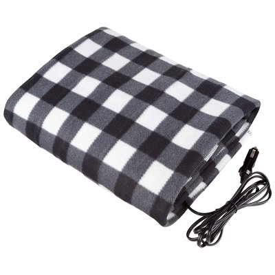 10. Electric Cars Blanket- Heated 12V Fleece
