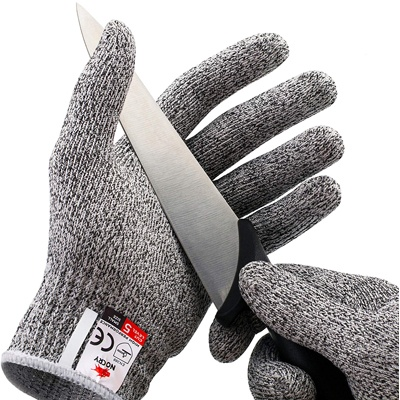 1 NoCry Cut Resistant Gloves - High-Performance Level 5 Protection, Food Grade.