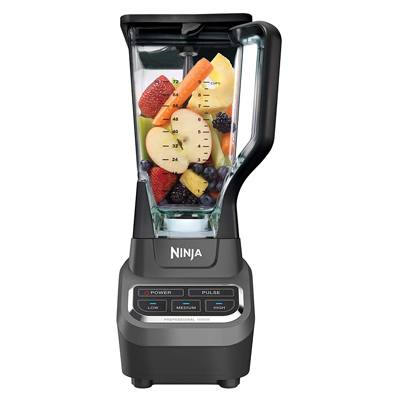 6. Ninja Professional 72oz Countertop Blender with 1000-Watt Base and Total Crushing Technology for Smoothies, Ice and Frozen Fruit (BL610), Black