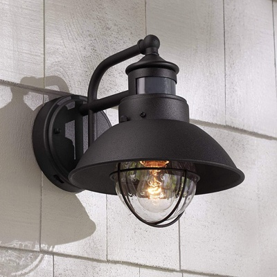 10. Oberlin Rustic Outdoor Wall Light By John Timberland