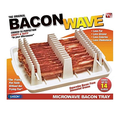 1. Emson Bacon Wave Microwave Bacon Cooker