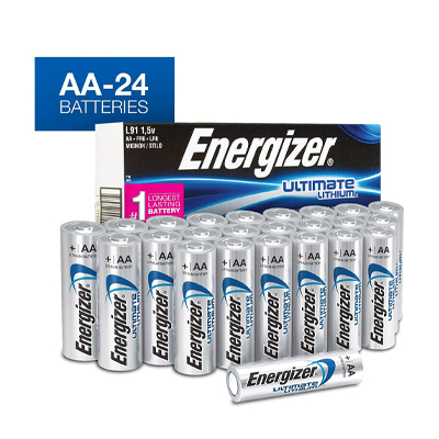 5. Energizer AA Lithium Batteries