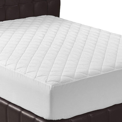 1. California King Mattress Pad Quilted Fitted Mattress Cover by Utopia Bedding