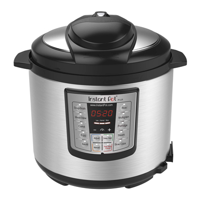 5. Instant Pot LUX60V3 V3 6 Qt 6-in-1 Multi-Use Programmable Pressure Cooker, Slow Cooker, Rice Cooker, Sauté, Steamer, and Warmer