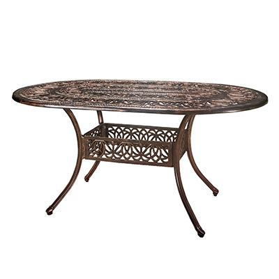 2. Christopher Knight Home Aluminum Outdoor Patio Dining Table