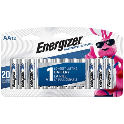 7. Energizer AA Lithium Batteries