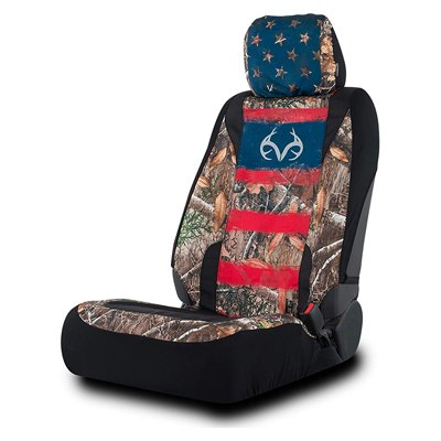 5. Realtree Low Back Seat Covers