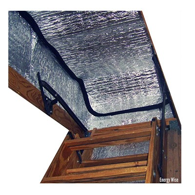 9. Energy Wise Attic Stairway Cover