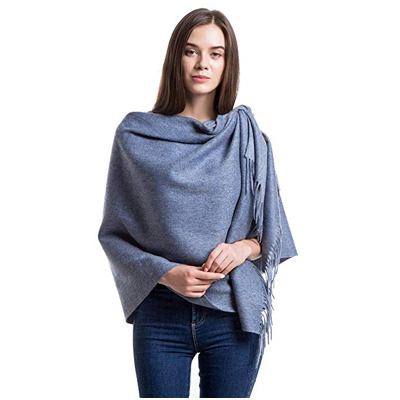 5. Cashmere Wrap Shawls for Women Wool Scarf