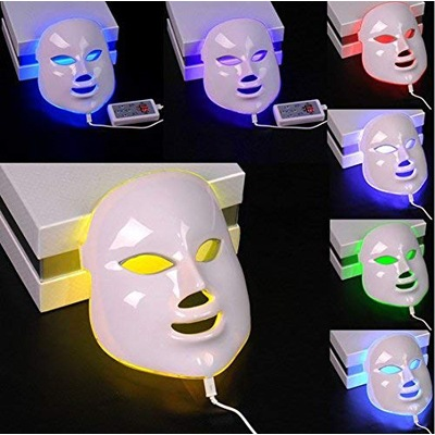 9. CSBY7 colours LED facial mask