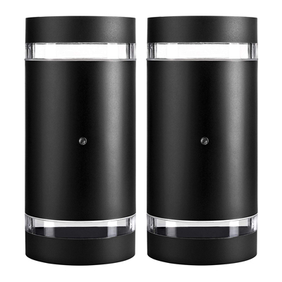 5. Hyperikon 2 Pack 4000K Daylight Outdoor Wall Light