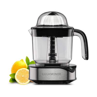 5. Electric Citrus Juicer 1.2 L Large Volume Pulp Control Stainless Steel Orange Squeezer