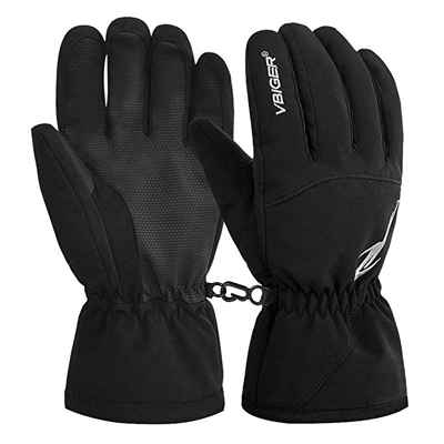 3. Vbiger Winter Ski Gloves