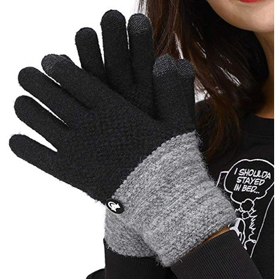 9. LETHMIK Duotone TouchScreen Winter Gloves