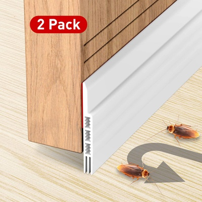 3. Holikme 2 Pack Door Draft Stopper