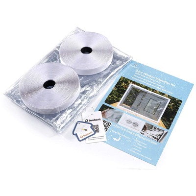 2. LOOBANI Reusable Window Insulation Kit