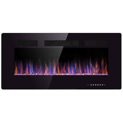 6. JAMFLY 42-inch Recessed Wall Mounted, Electric Fireplace