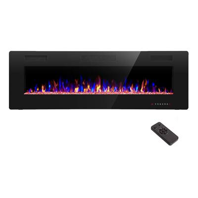 9. R.W.FLAME 50-inch Wall Mounted Electric Fireplace