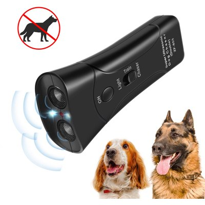 6. Zomma Handheld Dog Repellent, Ultrasonic Infrared Dog Deterrent, Bark Stopper + Good Behavior Dog Training