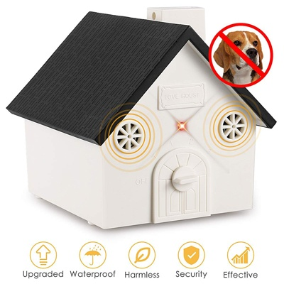 10. Zomma Anti Barking Device, New Bark Box Outdoor Dog Repellent Device